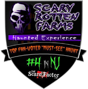 "#4 Top Fan-Voted ""Must-See"" Haunt in New Jersey"